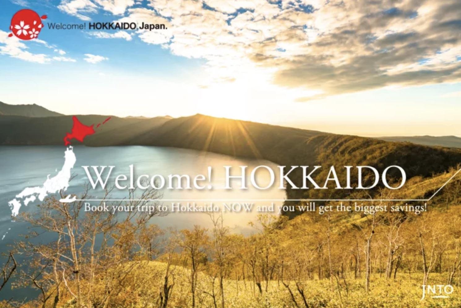 "Hokkaido is Genki ""Welcome! Hokkaido, JAPAN Campaign"" for International Travelers"
